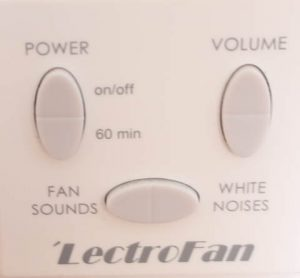 Lectrofan Classic Control Panel