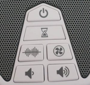 Lectrofan EVO Control Panel.
